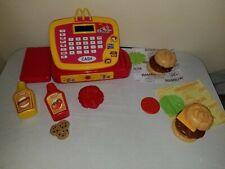 MCDONALDS Pretend CASH REGISTER Play Food RESTAURANT McDonald's COIN PURSE Set