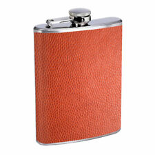 Abstract Background Em6 Flask 8oz Stainless Steel Hip Drinking Whiskey