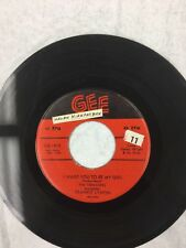 I Want You To Be My Girl/I'm Not A Know It All by The Teenagers 45 RPM