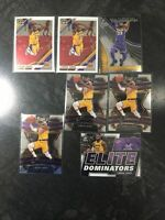 2019-2020 LeBron James Prizm, Select, Optic 🔥🔥🔥 7 Card Lot!!!
