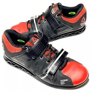 Reebok Mens Cross Fit U Form PowerBax Red Black Training Shoes US Size 10.5