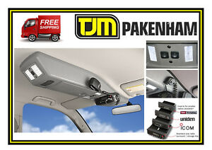 4WD INTERIORS ROOF CONSOLE SUITS HOLDEN RG COLORADO 2012+ DUAL/EXTRA CAB RCCOL12