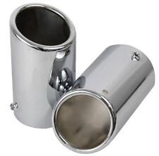 NEW OEM CHROME EXHAUST TIPS 2005-2010 VOLSWAGEN JETTA 2.0T 2.5L 1K0 071 910U
