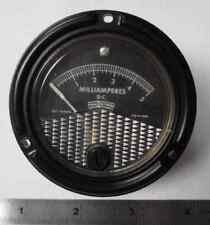 621-14990 PHAOSTRON METER 0-5 MILLIAMPERES FS=1MA  NEW OLD STOCK