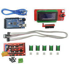 3D Printer Kits 2004LCD + MEGA 2560 R3 + Ramps1.4 + A4988 Dirver For Arduino NEW
