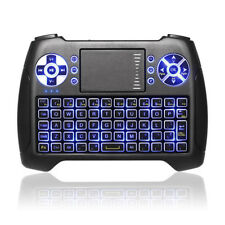 2018 Backlit Anewish 2 4ghz Mini Wireless Keyboard With Touchpad Mouse