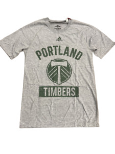 Adidas MLS Portland Timbers Tri Blend S/S Tee Grey/Green ED8455