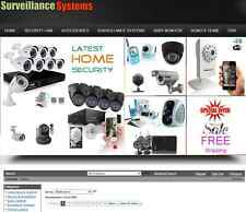 100% Revenue *Home Security CCTV* Niche Profit Turnkey Website Business For Sale