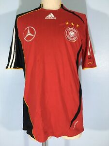 VTG ADIDAS FORMOTION GERMANY WORLD CUP 2006 TRAINING FOOTBALL SHIRT JERSEY M