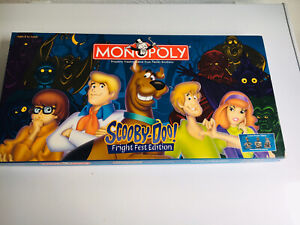 Scooby-Doo Fright Fest Edition Monopoly Board Game 2000