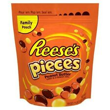Reeses Pieces 30 oz Peanut Butter Candy Crunchy Shell Candy Bag