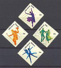 Scott #1749-52 Used Set of 4, American Dance