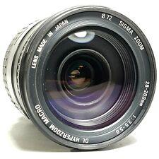Sigma 28-200mm F/3.5-5.6 DL Hyper Zoom Macro ASPHERICAL IF Lens UK Fast Post