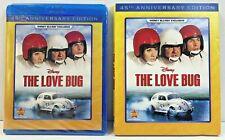 Disney's The Love Bug, Herbie (2014, Blu-Ray) 45th Anniversary New w/ Slip Cover