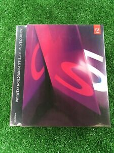 Adobe Creative Suite 5.5 Production Premium for windows Sealed New