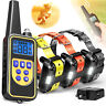 Dog Shock Collar With Remote Waterproof Electric For Large 900 Yard Pet Training
