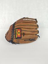 "Easton NAT60 12.5"" USA Leather Baseball Glove Left Hand Throw Slight Worn In"