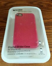 INCASE CRYSTAL SLIDER CASE FOR IPHONE 4/4S RASPBERRY SPARKLE CL59582