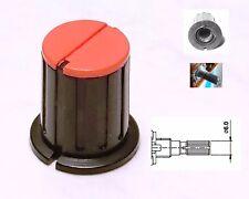 1 Bouton rouge et noire pour potentiomètre TEAC M-3 ou M-5B TASCAM et autre