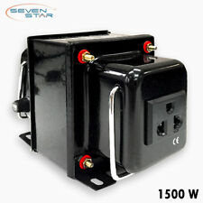 SevenStar THG-1500 Watt 220V to 110V Step-Down Voltage Converter Transformer