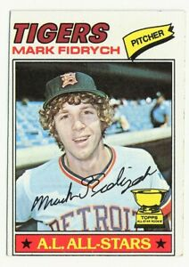1977 TOPPS DETROIT TIGERS MARK FIDRYCH #265 ALL-STAR ROOKIE CARD!