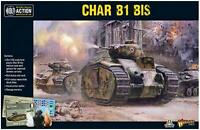 Warlord Games Bolt Action French Char B1 Bis Tank 402015502