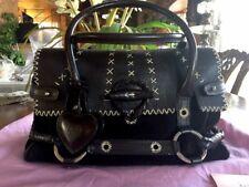 Luella Baby Gisele Suede Dark Brown Handbag