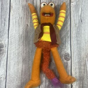 Vintage Fraggle Rock Tomy GOBO PLUSH DOLL Stuffed Animal Figure 1983 Jim Henson