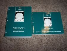 1998 Ford Mustang Shop Service Repair Manual Coupe Convertible GT Cobra 3.8 4.6