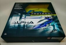 BRAND NEW ALPHA PROTOCOL TURBOHAWK 3 CHANNEL REMOTE CONTROL HELICOPTER