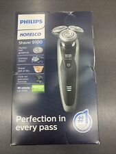 Philips Norelco Shaver 9100 Wet/Dry Rechargeable Lithium Ion Beard Trimmer NEW