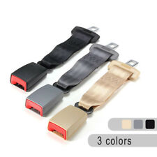 Universal 9'' Car Seat Belt Seatbelt Adjustable Safety Extender Extension Buckle