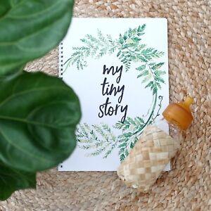 Keepsake Baby Book, Memory Journal, Photo Album, Scrap Book, New Baby