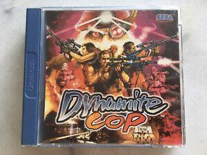 Dynamite Cop Dreamcast Sega Pal Deka Die Hard Arcade 2