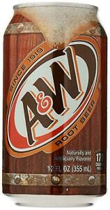 A&W Root Beer (Caffeine Free) 355ml, Pack of 6 USA