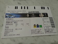 BIGLIETTO TICKET CHAMPIONS LEAGUE JUVENTUS FC VS OLYMPIACOS 04-11-2014