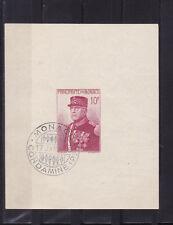 MONACO  bloc  Prince Louis II 1938    num: BF 1 oblitéré