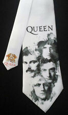 Queen Neck Tie -  Freddy Mercury Brian May Rock and Roll Hall of Fame