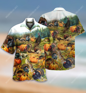 Be Turkey Short Sleeve Shirt Full Size S-5XL