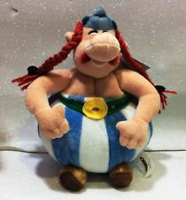 "ASTERIX OBELIX PELUCHE 30 CM SOFT PLUSH 11,8"" ORIGINAL BY UDERZO"
