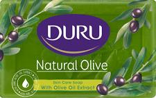 PACK OF 4 DURU NATURAL OLIVE OIL BAR BATH SOAP 6 OZ 180G