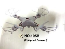 MINGJI 105 2.4Ghz 6-Axis Quadcopter Gyro drone RC helicopter HD Camera RTF .