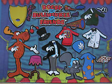 Ultra-Rare*20+yr.old*New* Sealed Rocky & Bullwinkle Magnet Play Set from 1996!