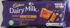 3 CADBURY DAIRY MILK CHOCOLATE INVENTION BLOCKS, CRUNCHY HONEYCOMB CHOCOLATE