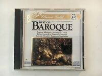 CD - BEST OF BAROQUE - Classic Gold - Clean Used -  GUARANTEED