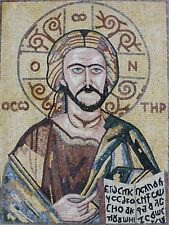 Religious Jesus Portrait Art Home Church Marble Mosaic FG834