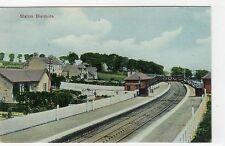 More details for railway station, bieldside: aberdeenshire postcard (c5658).