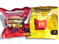 2015 HK McDonald's FOOD ICONS x Nanoblock Limited Edition ( Big Mac & Fries )