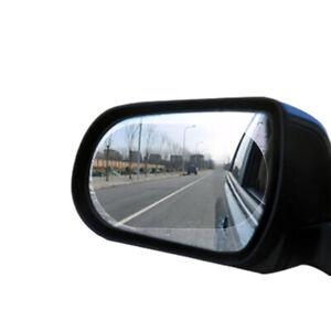 2x Car Accessories Anti Fog Rainproof Anti-glare Rearview Mirror Trim Film Cover