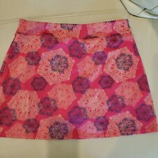 Tranquility skort, Small, pink and blue